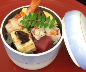 海鮮蒸し寿司