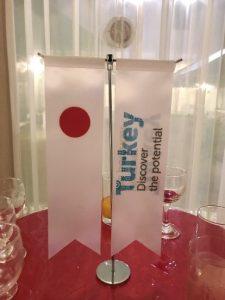 トルコ旗&日本旗